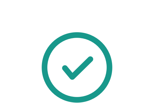 Balance tick icon